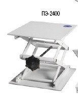 Столик подъемный ПЭ-2400 (большой, m=4.5 кг, грузоподъемность 30 кг, 260 х 280 х 60-350 мм)