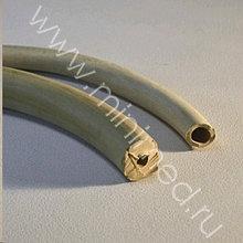 Трубка резиновая вакуумная, d=4,0 мм, толщина стенки 4 мм