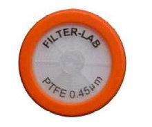 Фильтры шприцевые мембранные, 0,45 мкм, нестерильные (уп.100 шт) фторопластовые