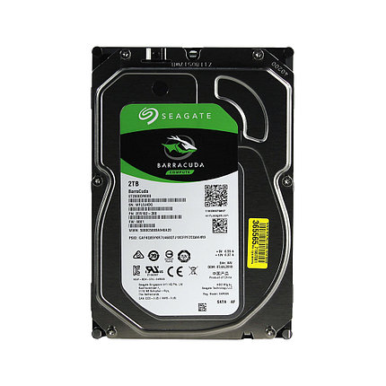 "HDD 2TB Seagate Barracuda SATA6Gb/s 7200rpm 256Mb 3,5"" ST2000DM008, фото 2"