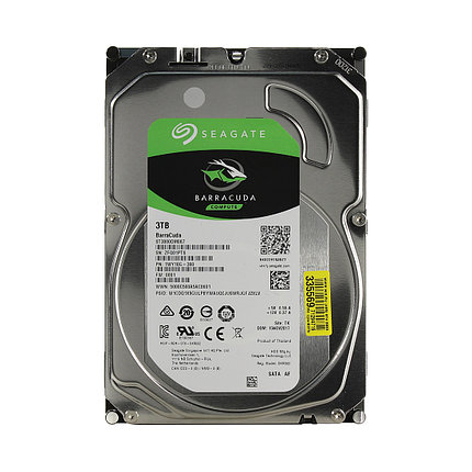 "HDD 3TB Seagate Barracuda SATA6Gb/s 5400rpm 256Mb 3,5"" ST3000DM007, фото 2"