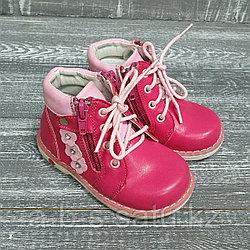 Ботинки ортопеды розовые