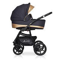 Детская коляска RIKO ALFA Ecco BASIC 2 в 1 (графит\песочный 02)