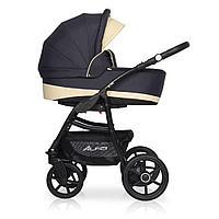 Детская коляска RIKO ALFA Ecco BASIC 2 в 1 (графит\бежевый 05)