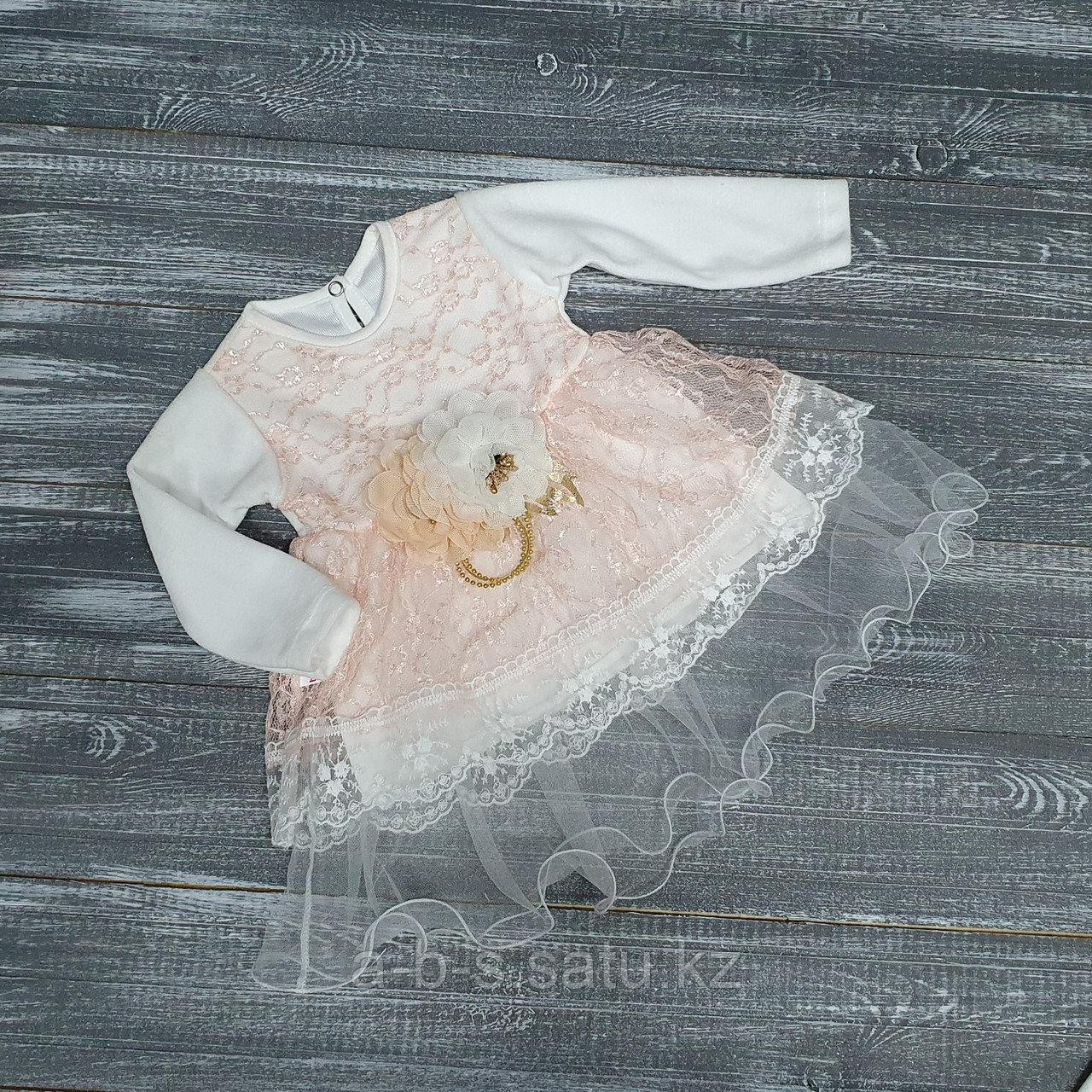 Платье: верх велюр