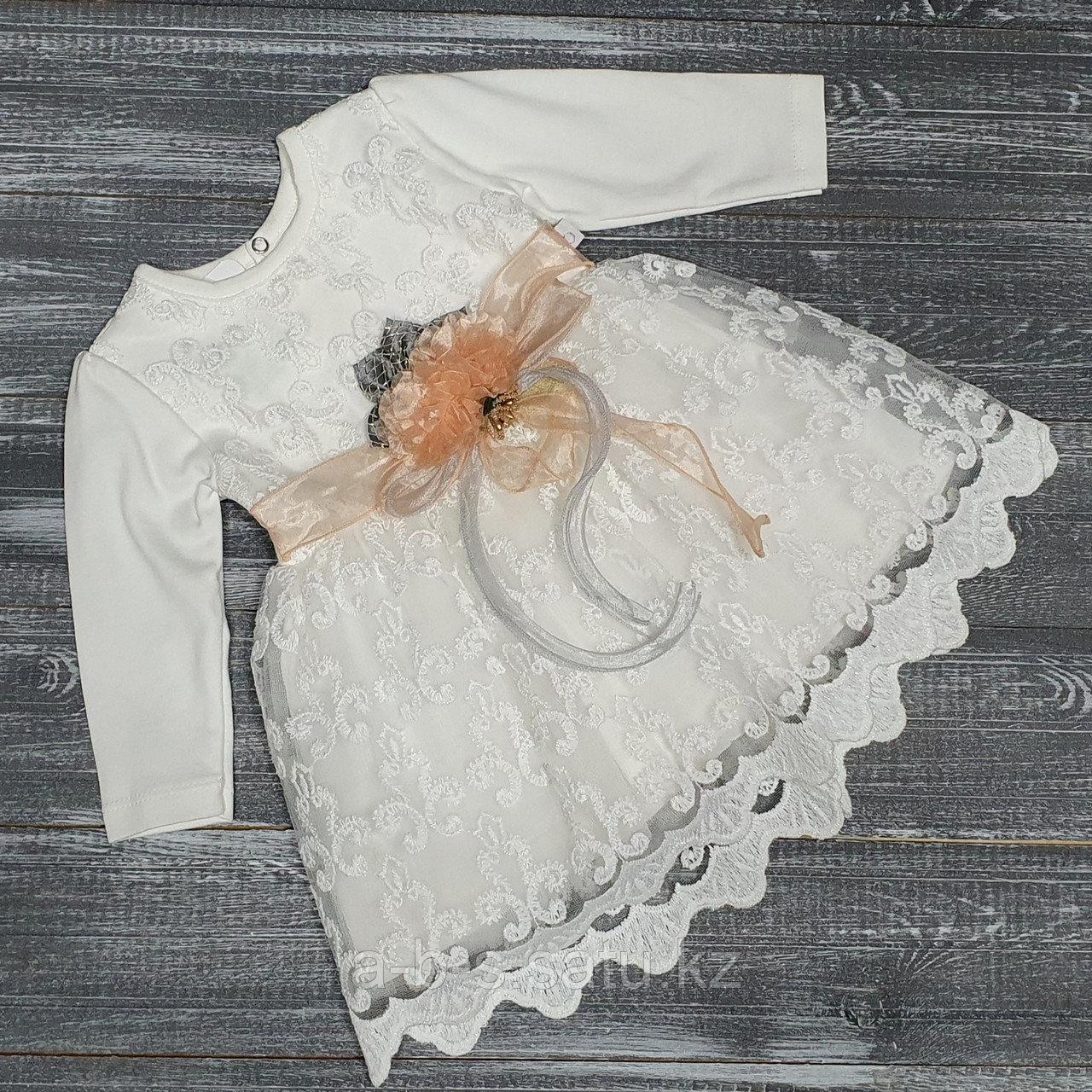 Платье:  верх велюр, белая юбка