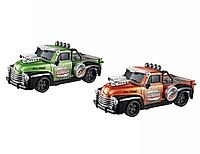 Машина р\у Cross Country Pickup оранжевый\зеленый