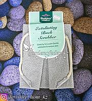 """Пилинговая мочалка для тела """"Bathjazz"""". Материал: Гофрированное волокно. Цвет: Серый."""