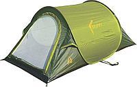 Палатка BEST CAMP Мод. SKIPPY 2 (2-x местн.)(220x120x90см)(нагрузка: 1.500мм)(зеленый/темно-зеленый) R89046