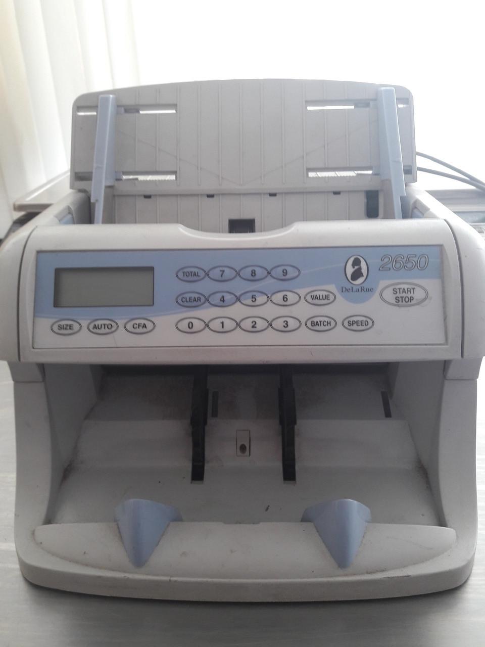 Машинка для счета денег DeLaRue 2650 б/у