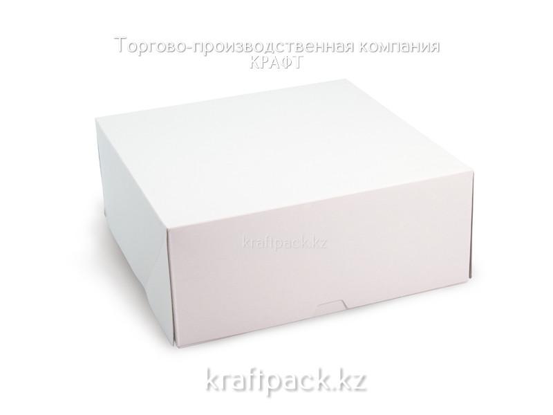Коробка для тортов 255*255*105 мм (60 шт/кор)