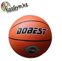 Мяч баскетбольный DOBEST RB5 р.5 резина, оранж.