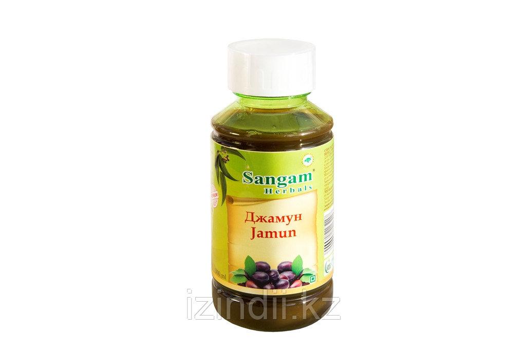 Аюрведический сок Джамун, 500 мл, Sangam Herbals
