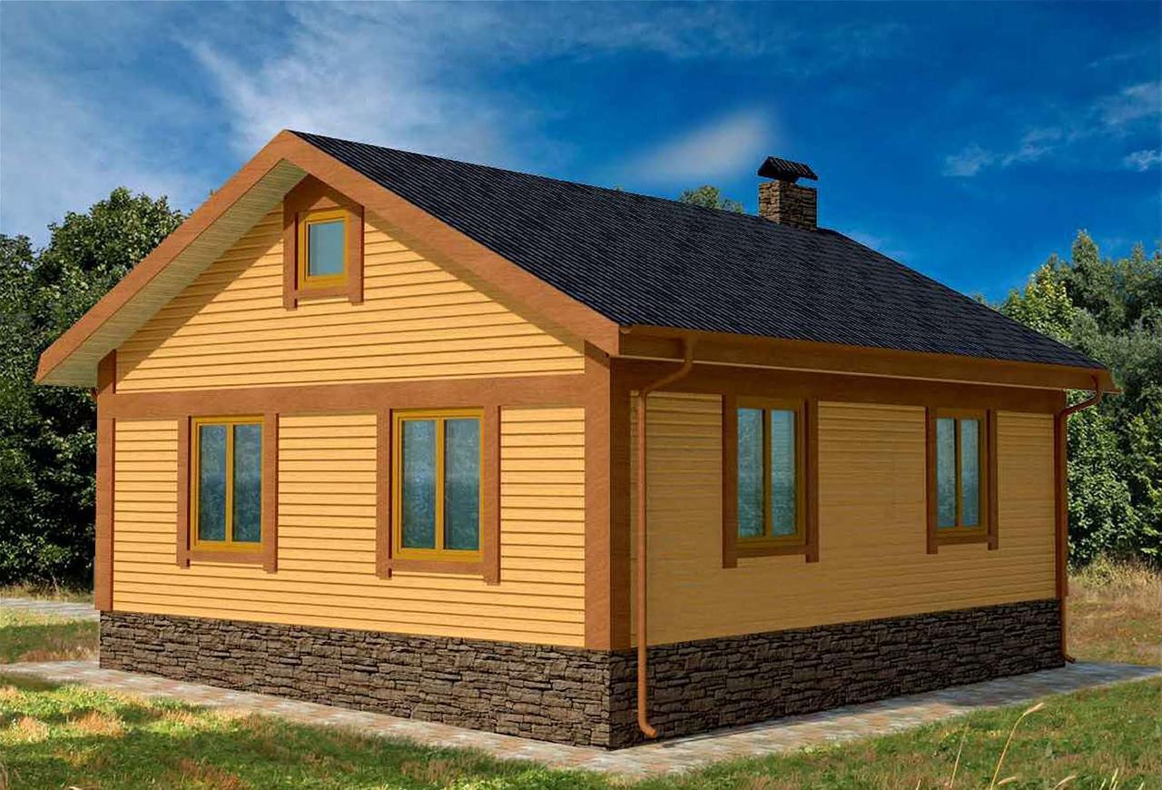 Строительство одноэтажных каркасных домов