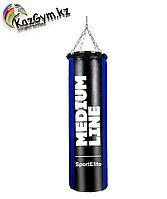 Мешок боксерский SportElite MEDIUM LINE  70см, d-30, 25кг, сине-черный