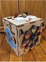Бизикуб Карусель / Логический бокс Smart Box 28*29 см