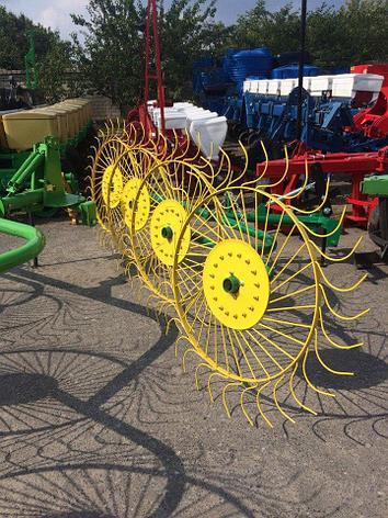 Грабли-ворошилки PZ-240 2,4м (4х колесные) Ekiw Польша, фото 2