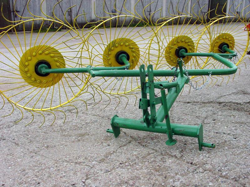 Грабли-ворошилки PZ-240 2,4м (4х колесные) Ekiw Польша
