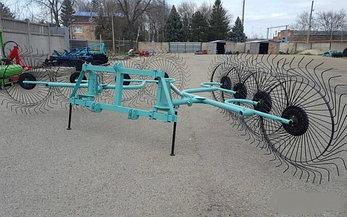 Грабли-ворошилки усиленные типа OGR 2.6м,3.3м,6.3м (Россия), фото 2