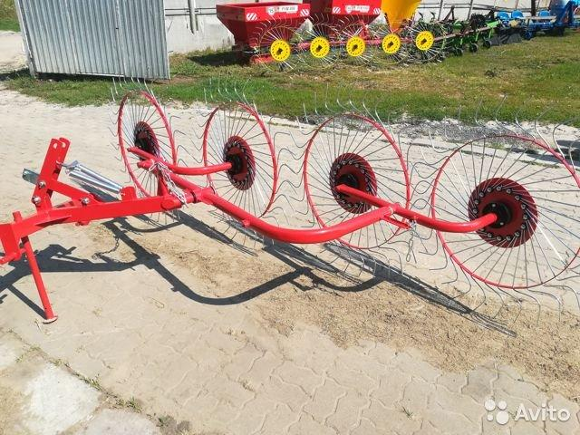 Грабли-ворошилки навесные ГВН (2.4м,3.0м) D-Pol,Беларусь