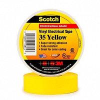 Изолента ПВХ Высшего Класса, желтая 3M Scotch 35
