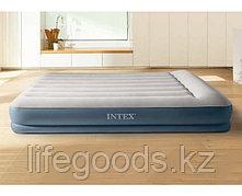 Надувная кровать двуспальная со встроенным насосом Intex 64118