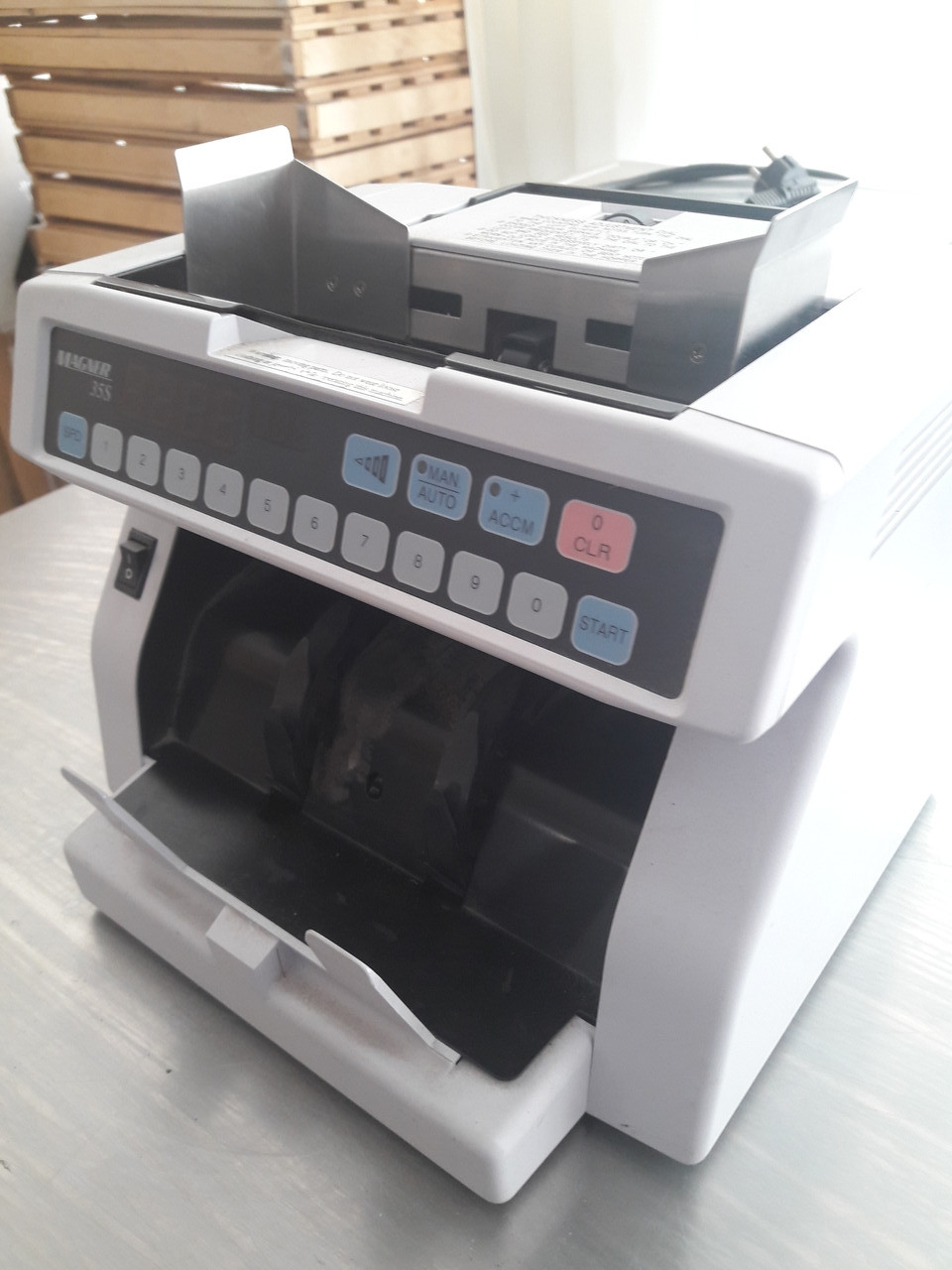 Машинка для счета денег magner 35 DC-10 б/у