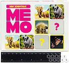 Настольная игра: Мемо Мир Животных (50 карточек), фото 3