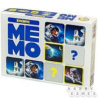 Настольная игра: Мемо Космос (50 карточек)