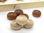 Настольная игра: Шашки деревянные (29х29), фото 2