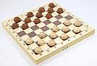 Настольная игра: Шашки деревянные (29х29), фото 3