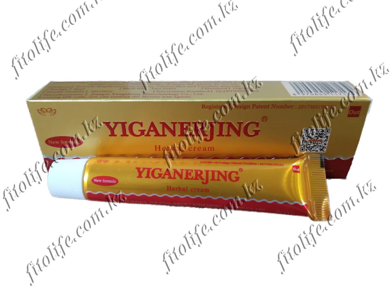 Мазь Yiganerjing от псориаза и других кожных заболеваний.