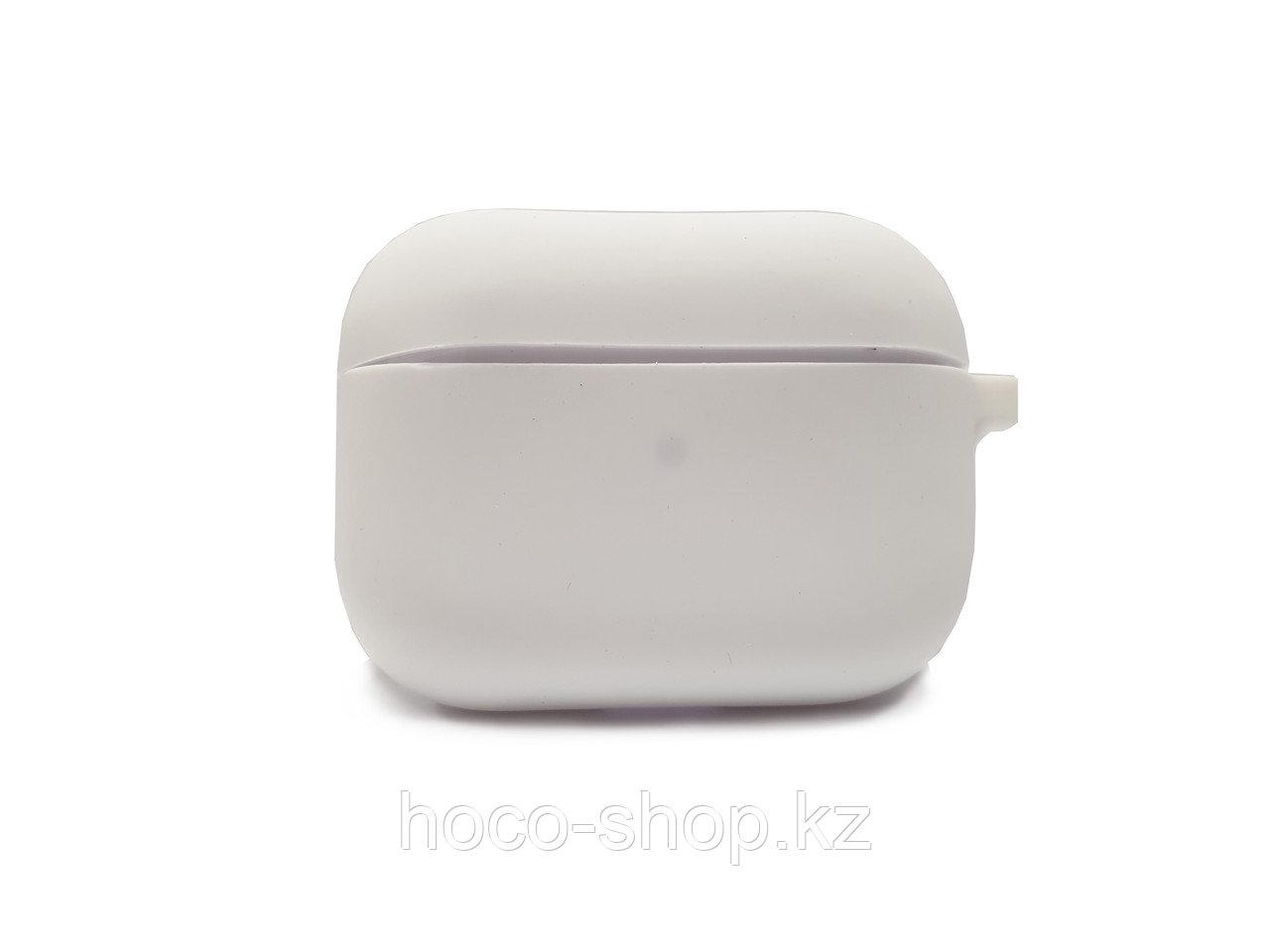 Силиконовый чехол для AirPods Pro White