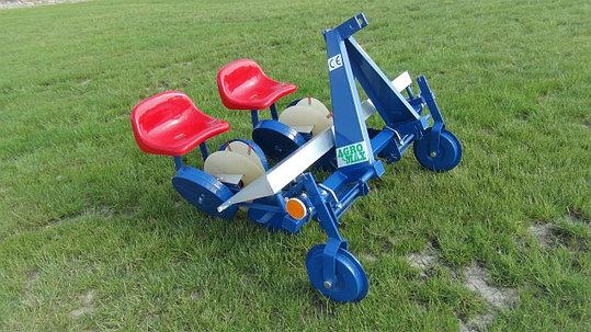 Рассадопосадочная машина 2х и 4х рядная Польша Agro-Max, фото 2