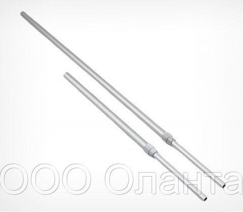 Алюминиевая телескопическая трубка 230-350 мм (d=9-12 мм)
