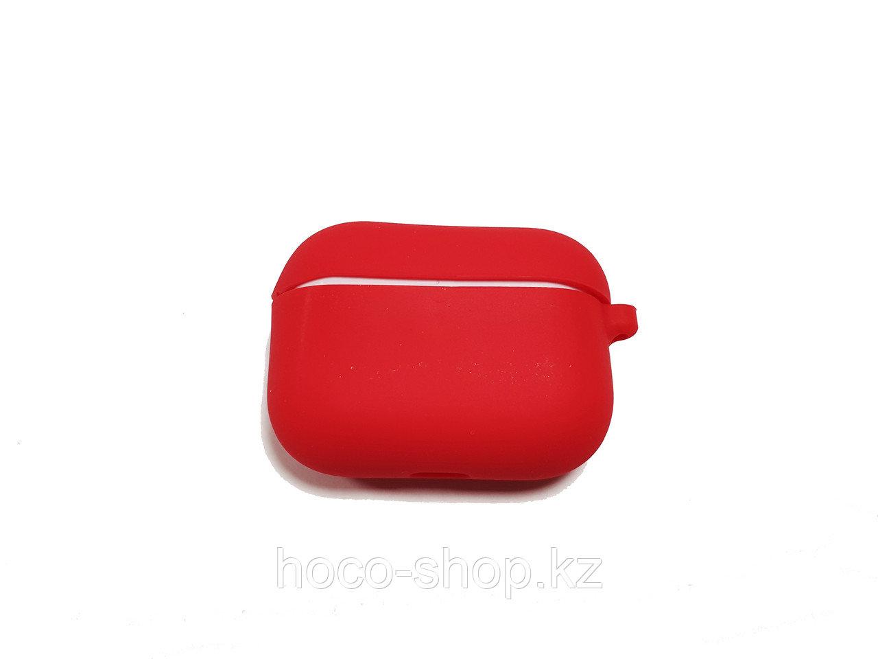 Силиконовый чехол для AirPods Pro Red