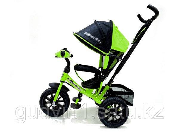 Велосипед 3-х колесный Lexus Trike с музыкальной панелью, светло-зеленый 01-12579