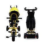 Велосипед 3-х колесный Lexus Trike, колеса пластик, желтый 01-12592, фото 3