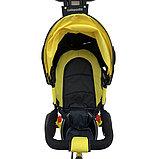 Велосипед 3-х колесный Lexus Trike, колеса пластик, желтый 01-12592, фото 4