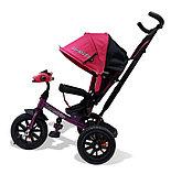 Велосипед 3-х колесный Lexus Trike с музыкальной панелью, розовый 01-12581, фото 4