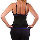 Утягивающий спортивный поясной корсет для похудения, фото 2