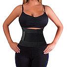 Утягивающий спортивный поясной корсет для похудения, фото 3