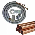 Инсталляция 6*12 полный комплект (трубы+межблочный пятижильный кабель+дренаж+лента) 12-18 модели