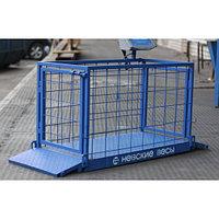 Платформенные весы для взвешивания животных ВСП4-150 ЖСО