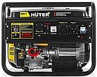 Портативный бензогенератор HUTER DY6500LXA (АВР) Автоматический запуск, фото 2