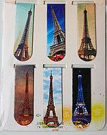 Закладки магнитные 6 шт Paris, фото 1