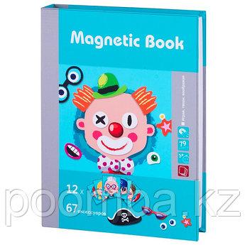 """Развивающая игра """"Гримёрка веселья"""" Magnetic Book"""