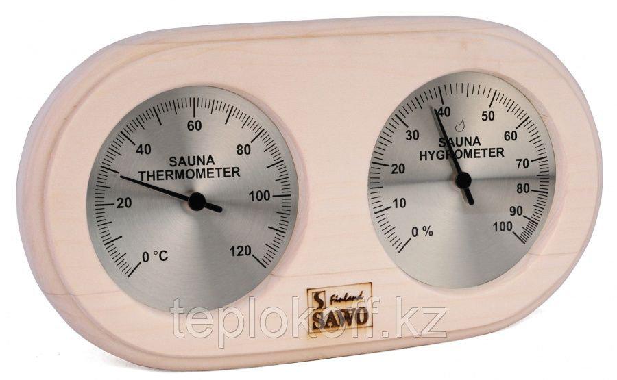 Станция банная Sawo 222-THA термометр с гигрометром осина 250*30*135 мм