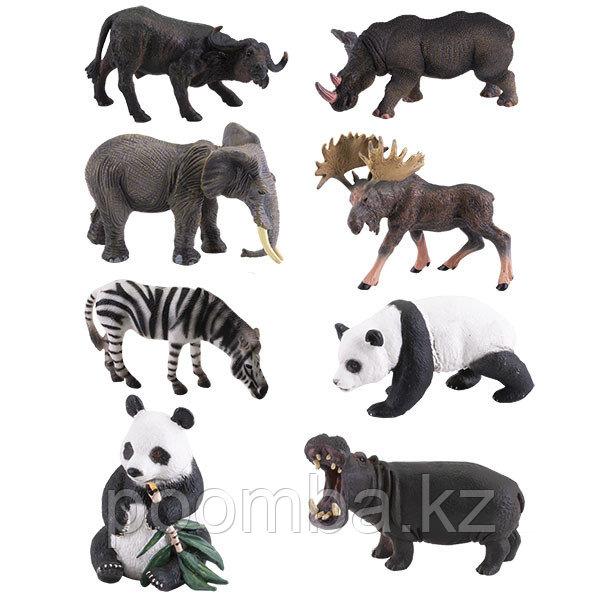 """Фигурка игрушка """"Травоядные"""", 8 видов (в ассортименте)"""