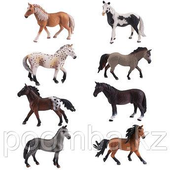"""Фигурка игрушка  """"Лошадь"""", 8 видов (в ассортименте)"""